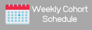 Cohort Schedule