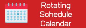 Rotating Schedule Calendar
